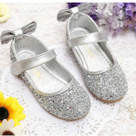 Princess Silver Glitter Shoes