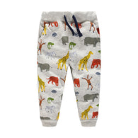 Sweatpants Autumn Spring Animals Print