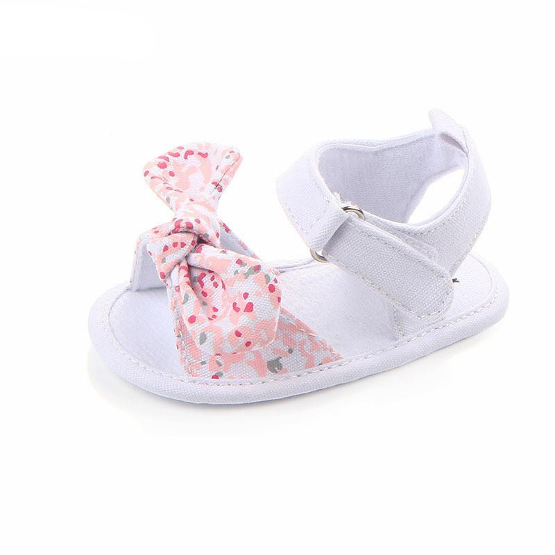 Baby girl's Shoes Non-Slip Canvas Bow-knot