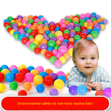 100 pieces  Eco-Friendly Colorful Soft Plastic Water Pool Ocean Ball