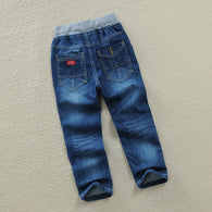 spring autumn boys casual trousers jeans