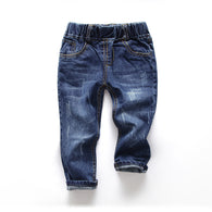 Trousers Full Length Spring Kids jeans