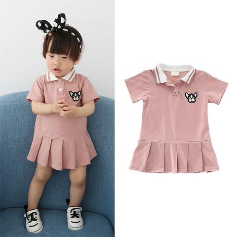 2018 Baby Girls Dress Toddler Kids