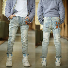 boys jeans whited color soft material
