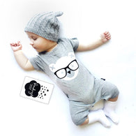 cartoon bear one piece suit Jumpsuit newborn baby boy/ girl clothes