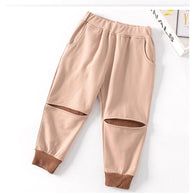 Hot Sale Loose Trousers Unisex Pants For 3-8Years