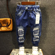 Boys fashion ripped jeans 3-8 years
