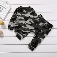 Infant Camouflage Outfits Set