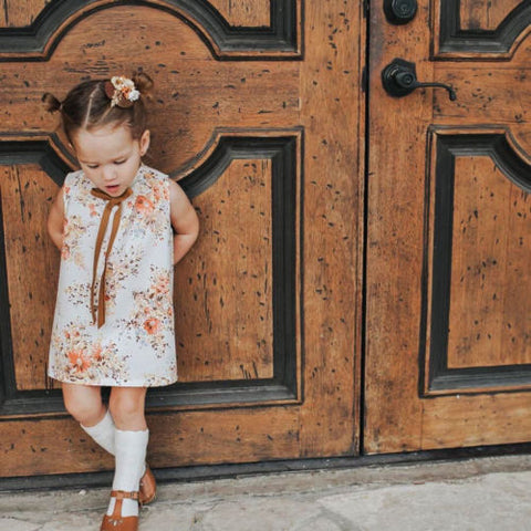 Flower Dress Sundress Formal Clothes Summer Outfits 1-6T