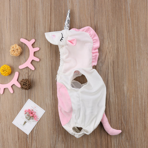 3D Unicorn Romper Jumpsuit