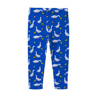 Butterflies Girls Trousers Long Pants For Autumn