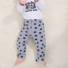 3 Long Trousers Cartoon Legging Embroidered