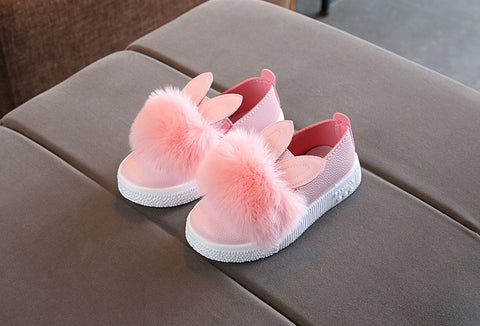 Rabbit Ears Pom-Pom Shoe