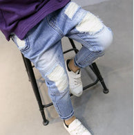 Casual Cotton Elastic Waist Pencil Pants