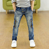 Zipper Leggings Boy Wild Jeans