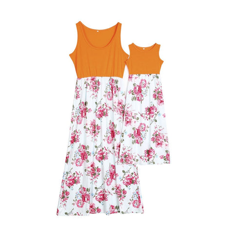 Sleeveless Summer Patchwork Clothes