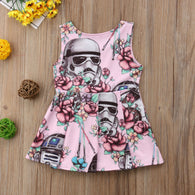 Clothes Sleeveless Floral Casual Dress 6M-3T