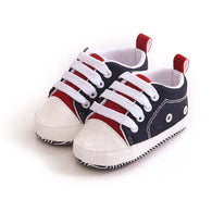 Lovely Baby Sneakers Laces Soft Sole Shoes