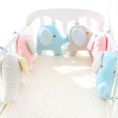 Soft Thick Baby Crib Protector Total 6 Pieces