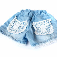 Baby Girls Cowboy Shorts Jeans 1-6Y