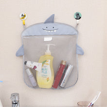 Baby bathroom mesh bag for bath toys