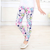 Children Long Trousers Kids Girls Leggings Pants