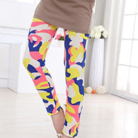Girls Leggings Pants Flower Floral Printed