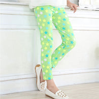 Flower Floral Printed Elastic Pants