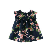 Children Summer Girls Cute Lolita Flower Floral Printed Holiday