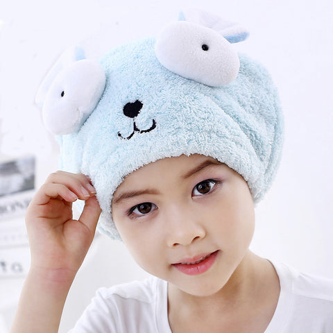 Special Dry Hair Cap Towel