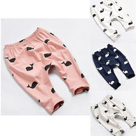 Cartoon Whale Pants Trousers Leggings