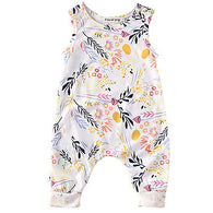 Baby Girl Clothes Sleeveless Romper Floral