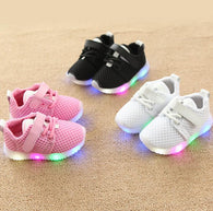 Children Shoes With Luminous Sneakers Shoes Glowing