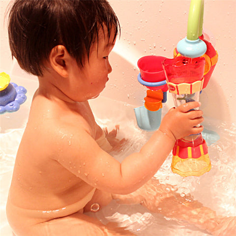 Plastic Baby Bath Toys Swim Water Whirly