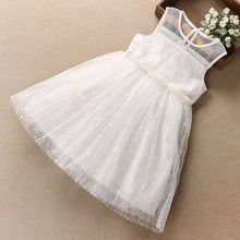 Sleeveless Lace Party Princess Dress For Girls