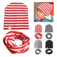 Cute Cap Cotton Baby Hat Scarf Set