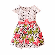 Summer Baby Girls Kids Short Sleeve Dress