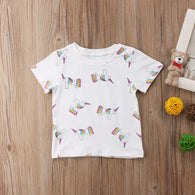 Summer Short Sleeve Unicorn
