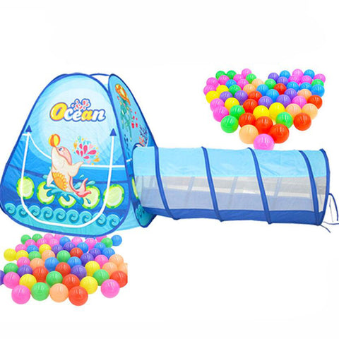 Portable Pool Ball Pits Fordable Children Outdoor Sports