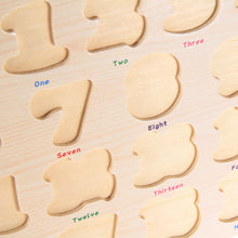 Wooden Toys Kids Learning Educational