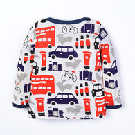 Cars Printed Blouse Kids T-Shirts