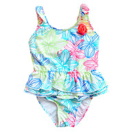 One Pieces Suits Floral Swimsuit