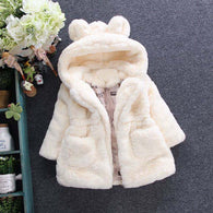 New Fur Fleece Coat Pageant Warm Cotton