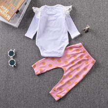Cute Infant Rompers + Pants 2pcs Suit