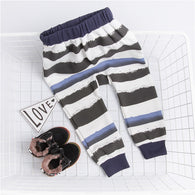 Cotton Striped Kids Harem Pants