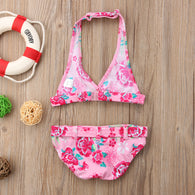 Floral Bikini Set Beach Swimwear