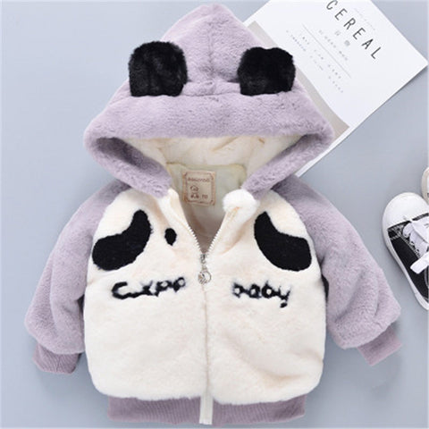 Cartoon Clothing Hooded Coat