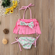 Flower Tassel Swimwear