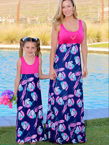 Mother And Daughter Beach Dress