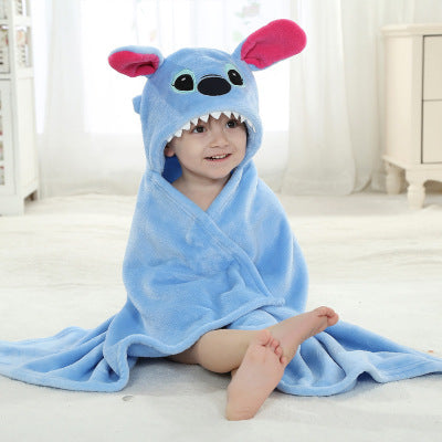 Designs Hooded Animal Model Bath Towel